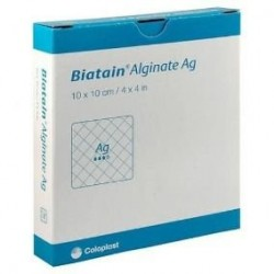 Biatain Alginate AG 10x10 (unidade)